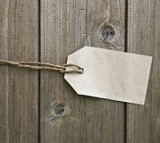 metka ślepą papieru Zdjęcie Royalty Free