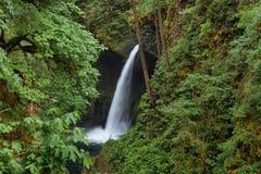 Metlako falls. in Columbia River Gorge royalty free stock image