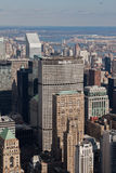 Metlife Building and New York Cityscape Royalty Free Stock Photos