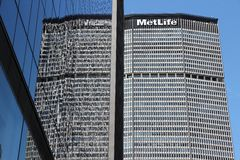 MetLife Building Royalty Free Stock Photography