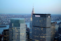 Metlife Building NYC royalty free stock photo