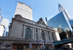 Metlife Chrysler GrandCentral Station New York Stock Photo