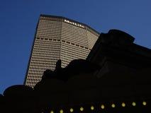MetLife-Gebäude in New York City, Wolkenkratzer in einer Stadt stockfoto