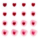 Metling love Stock Images