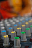 Metod till kontrollnivån av musik Royaltyfri Foto