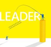 Metoda lider ilustracja wektor