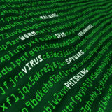 metoder för green för fält för attackkodcyber Arkivbild