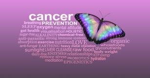 Metodi preventivi per preoccuparsi per quelli con Cancro fotografia stock libera da diritti