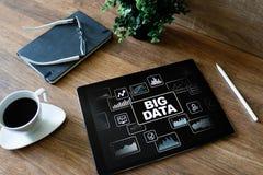 Metodi standard e strumenti di BIG DATA complessi manipolare o interrogare Concetto di tecnologia e di Internet fotografia stock