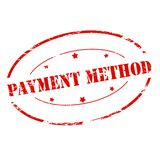 Metodo di pagamento Immagini Stock