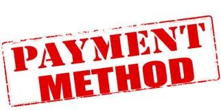 Metodo di pagamento Fotografie Stock