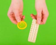 Metody antykoncepcja Obrazy Stock