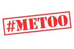 METOO Rubber Stamp. METOO red rubber stamp over a white background Royalty Free Stock Photography