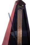 Metrónomo de madera de la vendimia Foto de archivo
