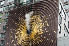 Metrónomo NYC Fotografía de archivo libre de regalías