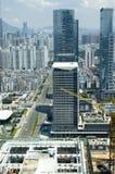 Metrópoli china - Shenzhen Foto de archivo