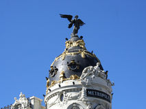 Metrópoli, Madrid, España fotos de archivo
