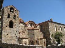 Metrópoli ortodoxa Mystras Grecia de Dimitrios del santo Imágenes de archivo libres de regalías