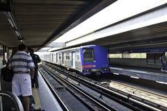 Metrô (地铁) - São保罗-巴西 库存照片