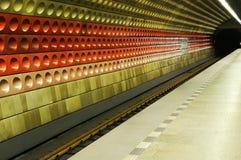 metra ruchu pociąg Obraz Royalty Free