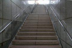 Metra metra schodki obraz stock