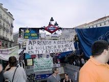 metra usta rewoluci spanish zdjęcie royalty free