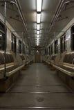 metra wewnętrzny nowożytny traint Obraz Royalty Free