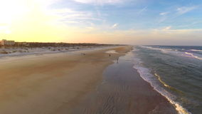 Metragem aérea 2 da praia