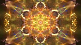 Metragem abstrata do fractal para o projeto criativo video estoque