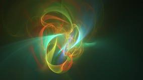 Metragem abstrata do fractal para o projeto criativo ilustração royalty free
