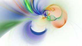 Metragem abstrata do fractal para o projeto criativo ilustração stock