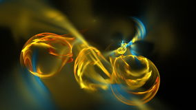 Metragem abstrata do fractal para o projeto criativo ilustração do vetor