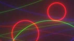 Metragem colorida de VJ, sumário da textura do fundo filme