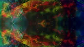 Metragem video animado colorida do fundo vídeos de arquivo