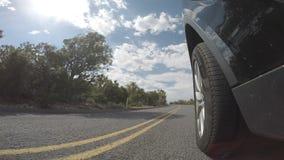 Metraggio di guida di veicoli stock footage