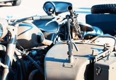 Metralhadora montada no side-car, estilo industrial imagens de stock royalty free