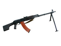 metralhadora RIK-74 de 5,45mm Imagens de Stock