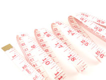 Metre measure ruler Stock Images