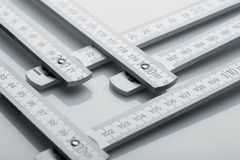 Metre measure ruler Royalty Free Stock Image