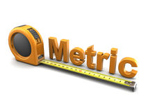 Metric Stock Image