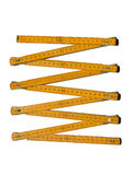 Metric folding ruler Stock Image
