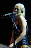 Metric performing live. Royalty Free Stock Images