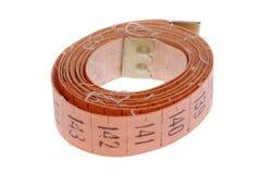 Metric tape measure stock photography