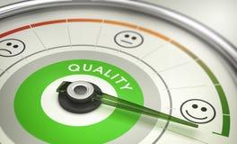 Metrica della società, soddisfazione del cliente di misurazione royalty illustrazione gratis