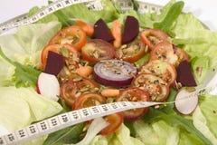 Metrische Salade royalty-vrije stock foto