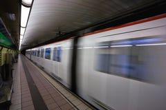 Metro Fotografía de archivo libre de regalías