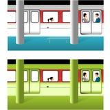 Metro royalty-vrije illustratie
