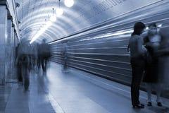 Metro royalty-vrije stock afbeelding
