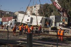 Metro accident Stock Images