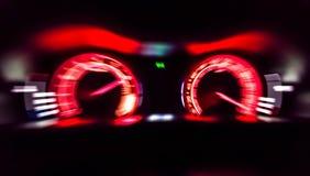 Metro ad alta velocità dell'automobile Immagine Stock